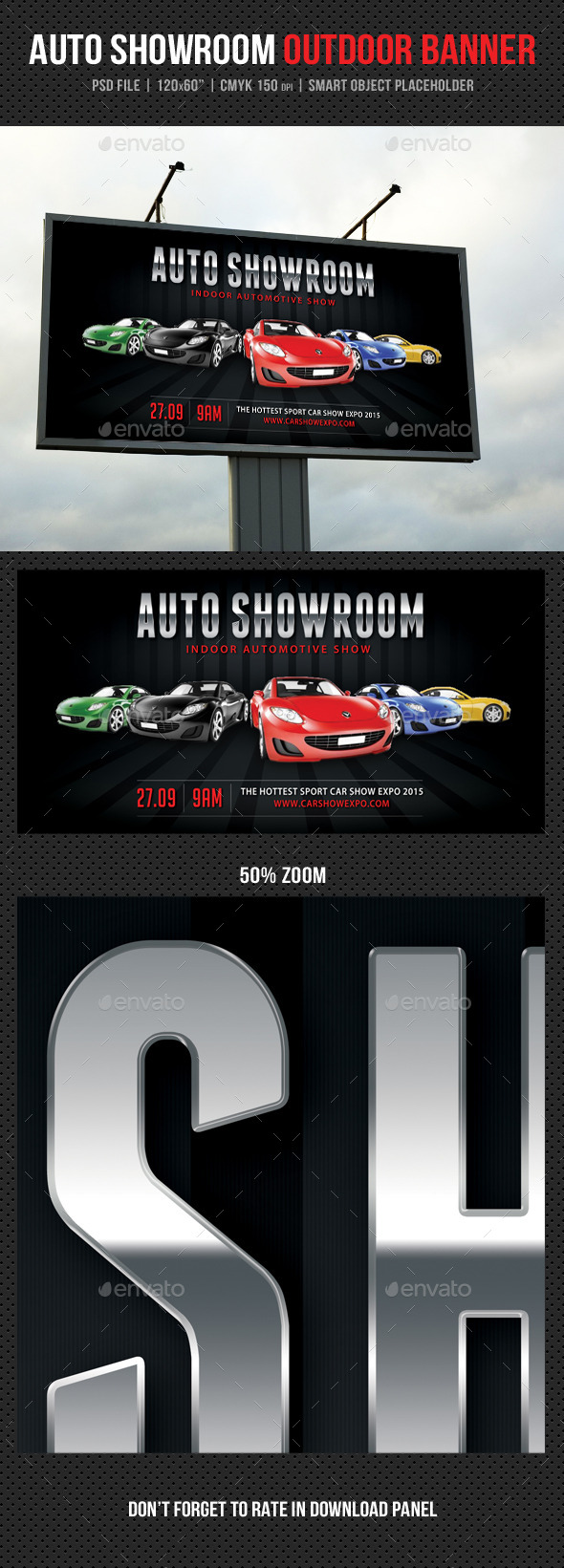 Auto Showroom Outdoor Banner 04