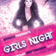 Girls Night Flyer Photoshop Template - GraphicRiver Item for Sale
