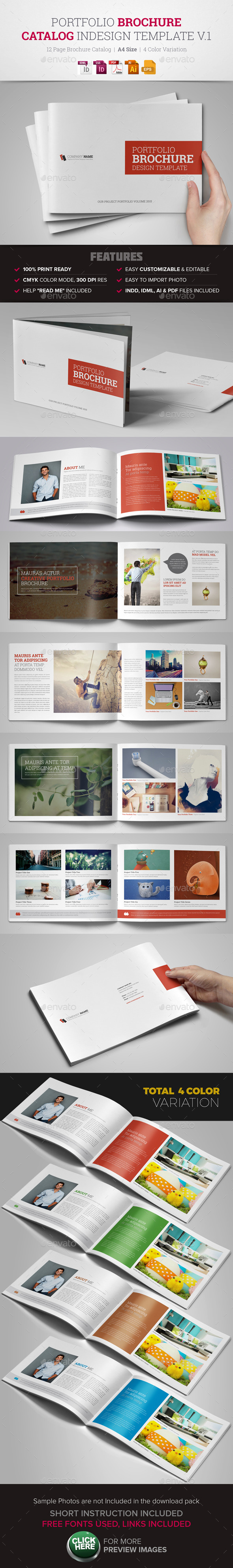 Portfolio Brochure InDesign - Corporate Brochures