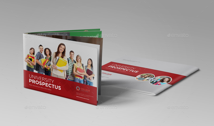 College University Prospectus Brochure V By JbnComilla - College brochure templates
