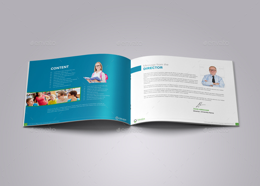 college prospectus design template college prospectus design