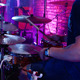 Drum At Concert On Stage - VideoHive Item for Sale