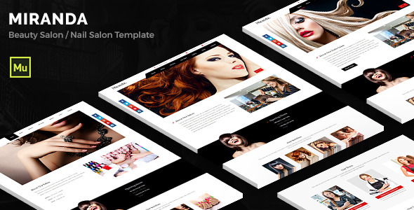 Miranda - Beauty Salon, Nail Salon Template