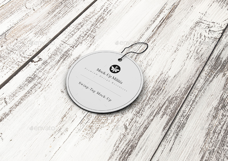Swing Tag | Hang Tag | Product Label | Mock-Up by Mock-Up-Militia ...