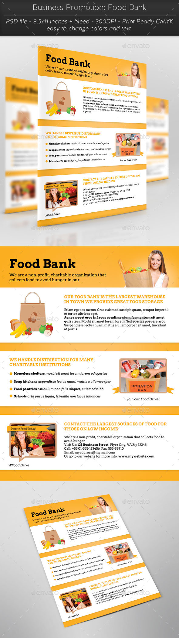 Business Promotion Food Bank