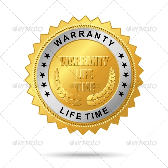 Guaranty quality golden label - Decorative Symbols Decorative
