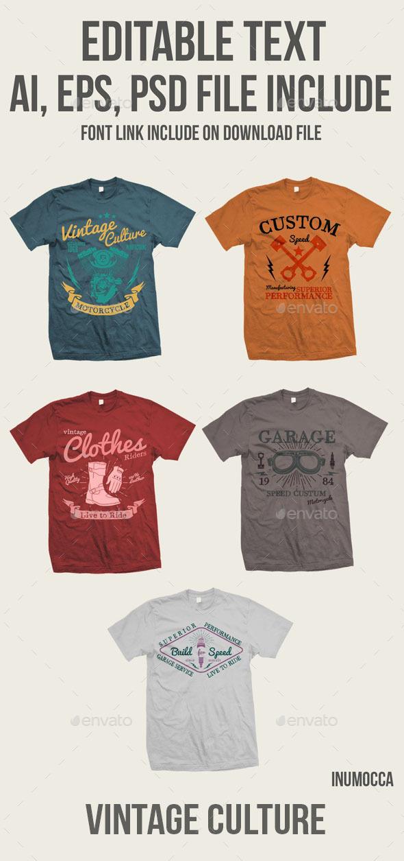 Vintage Culture - Grunge Designs