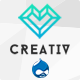 Creativ - MultiConcept Drupal Theme - ThemeForest Item for Sale