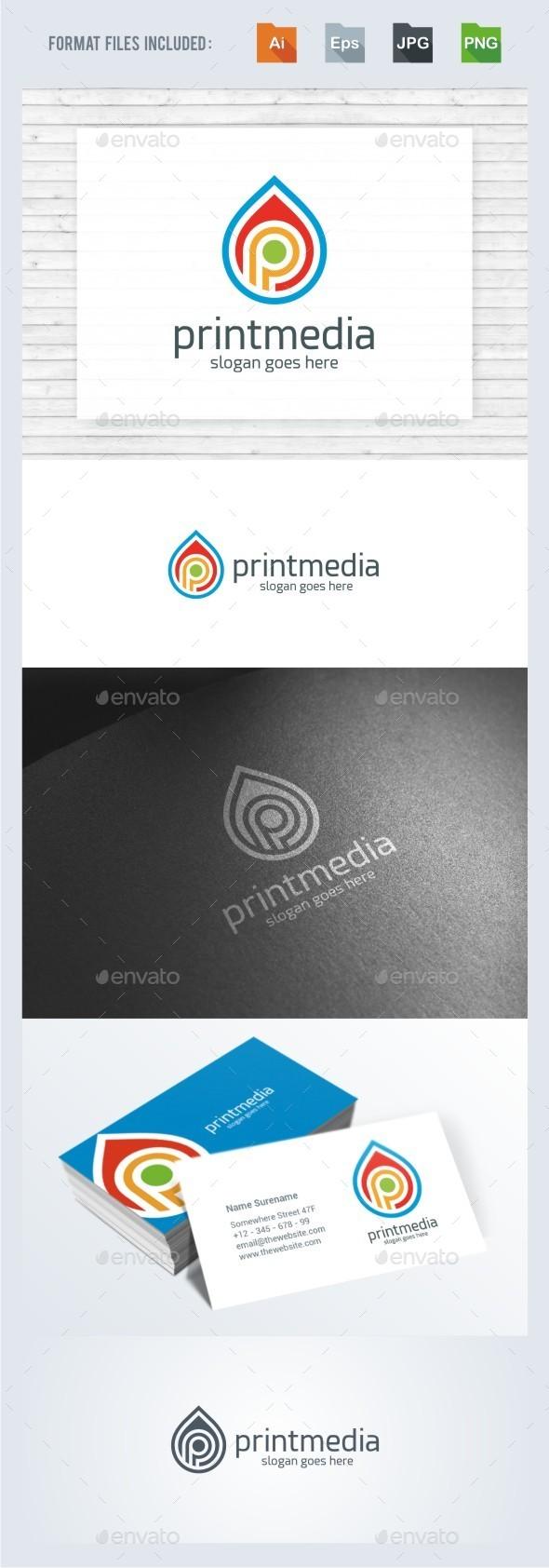 Print Media - Logo Template - Symbols Logo Templates