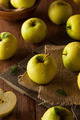 Raw Organic Golden Delicious Apples