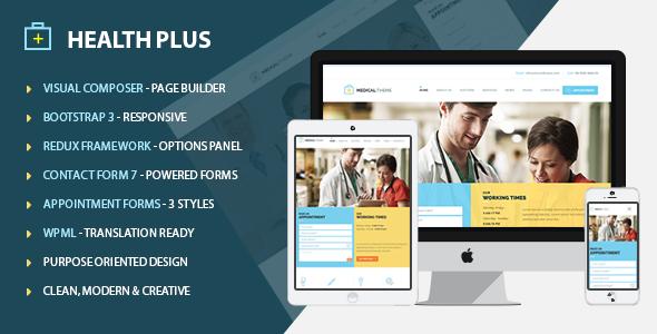 Health Plus - Health & Medical Theme