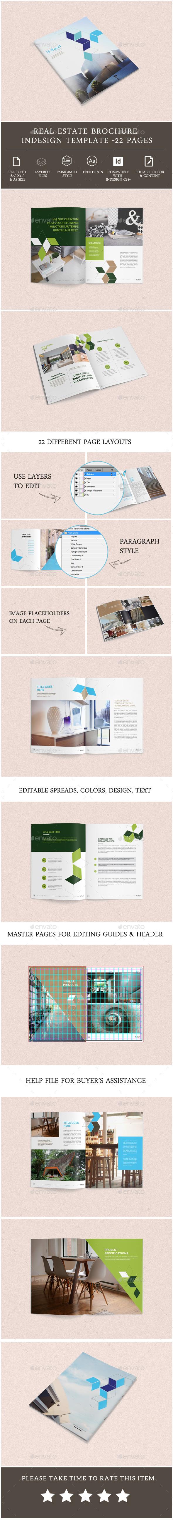 Real Estate Brochure Template - Corporate Brochures