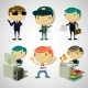 Cartoon Boys - GraphicRiver Item for Sale