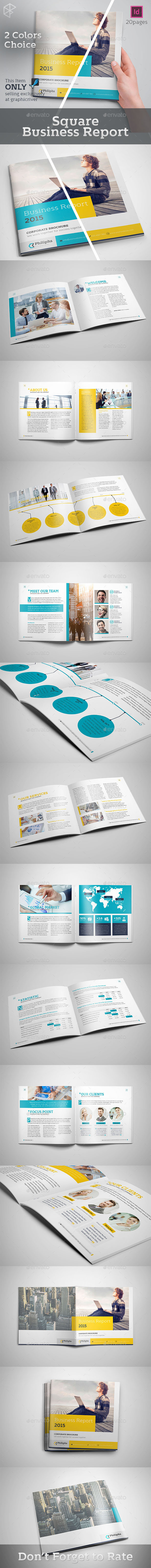 Square Business Report - Corporate Brochures