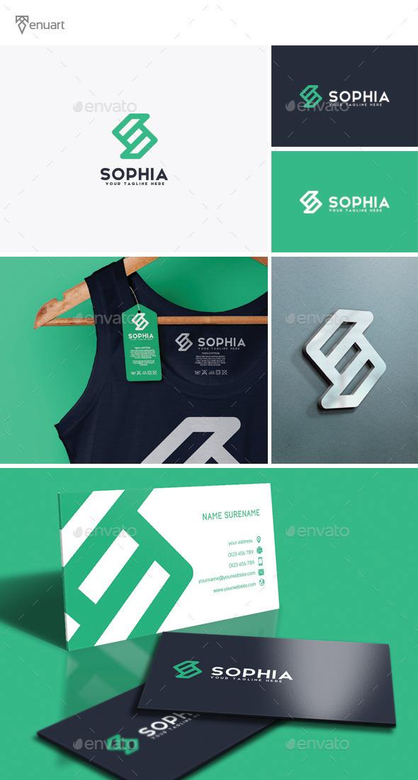 Sophia - Letter S Logo - Letters Logo Templates