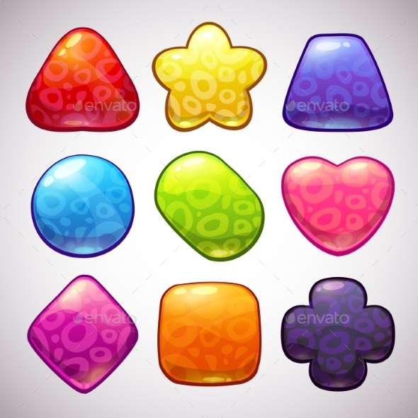 Funny Jelly Figures