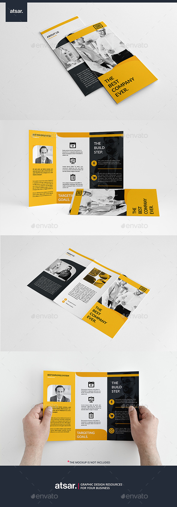 Simply Yellow Trifold - Corporate Brochures