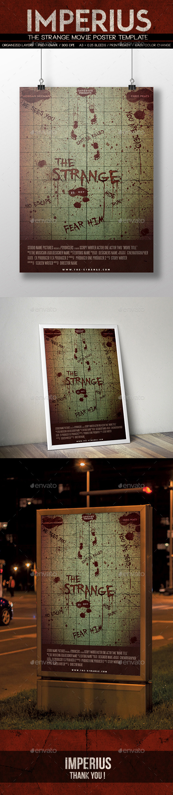 The Strange Movie Poster - Miscellaneous Events
