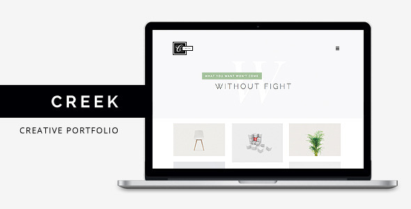 Creek – Creative Agency Portfolio HTML5 Theme