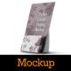 Pocket Counter Display Mockup - GraphicRiver Item for Sale