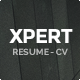 Xpert - Responsive CV Resume WordPress Theme - ThemeForest Item for Sale