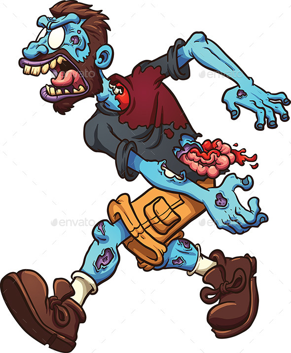 Cartoon Zombie - Monsters Characters