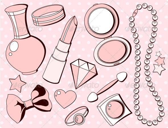 Cute Fashion Accessories By Dazdraperma Graphicriver