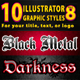 10 Illsutrator Graphic Styles Vol.8 - GraphicRiver Item for Sale