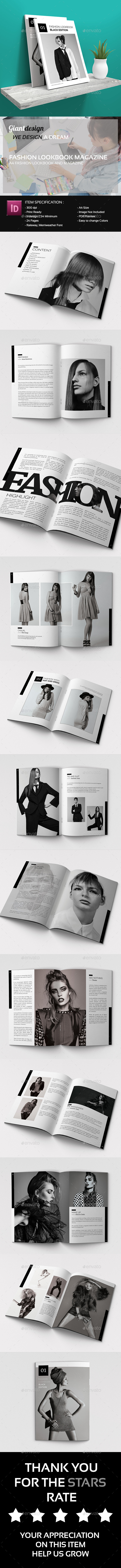 Fashion Lookbook And Magazines