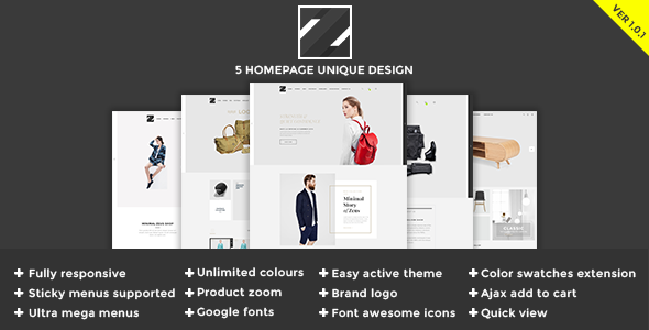 Zeus - Multipurpose Magento Theme