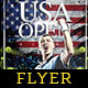 Usa Open Flyer Template - GraphicRiver Item for Sale