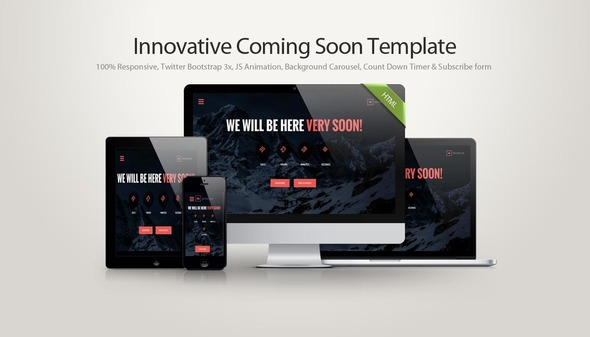 SKYATLAS - Innovative Coming Soon Template - Under Construction Specialty Pages