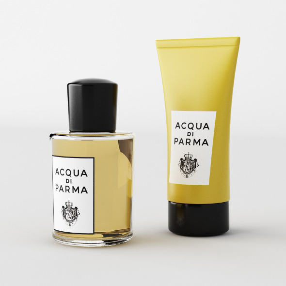 ACQUA DI PARMA PERFUME AND CREAM - 3DOcean Item for Sale