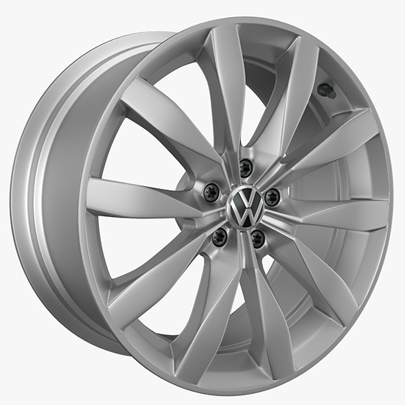 VW Rims Golf - 3DOcean Item for Sale
