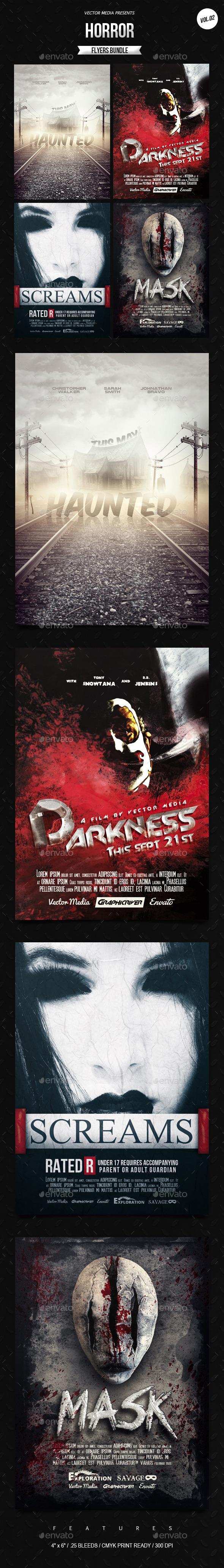 Horror - Movie Posters Bundle [Vol.02] - Miscellaneous Events