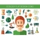 Modern Flat Design Conceptual Ecological Icons - GraphicRiver Item for Sale
