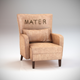 Mater (armchair) - 3DOcean Item for Sale