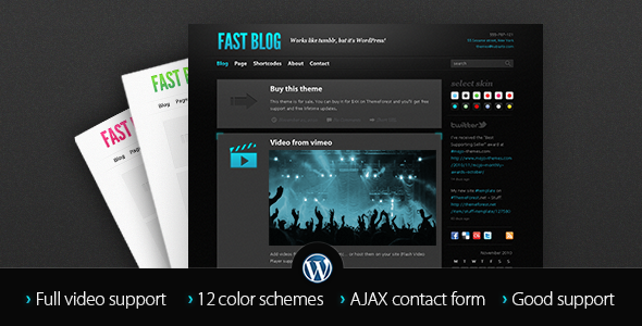 Free Download Fast Blog Nulled Latest Version