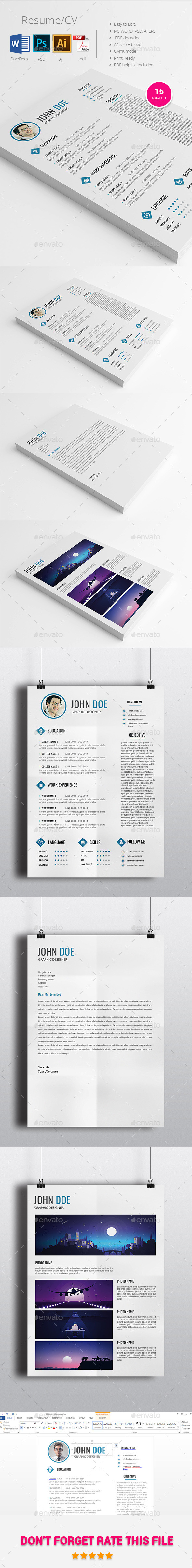 Resume\CV - Resumes Stationery