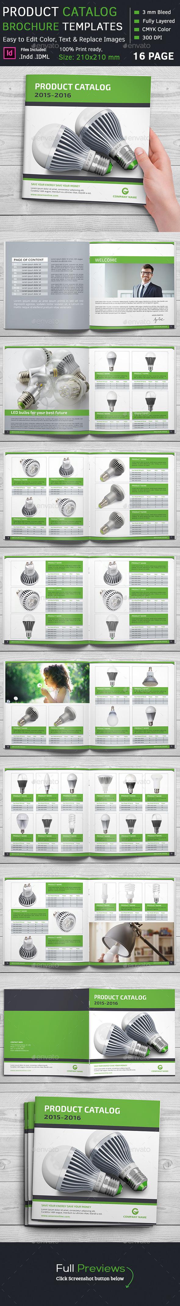 Product Catalog Square Brochure - Catalogs Brochures