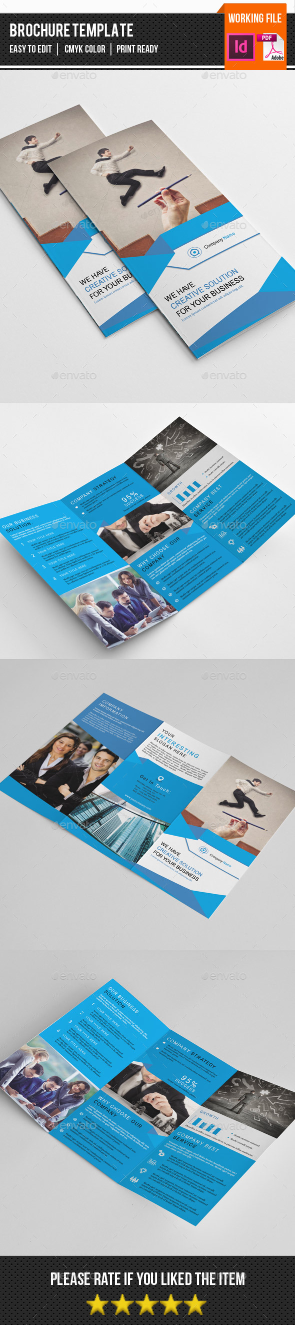 Corporate Trifold Brochure-V248 - Corporate Brochures