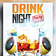 Drink Night Party Flyer - GraphicRiver Item for Sale
