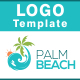 Palm Beach Logo  - GraphicRiver Item for Sale