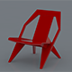 chair low poly - 3DOcean Item for Sale
