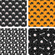 Seamless Patterns with Skulls - GraphicRiver Item for Sale