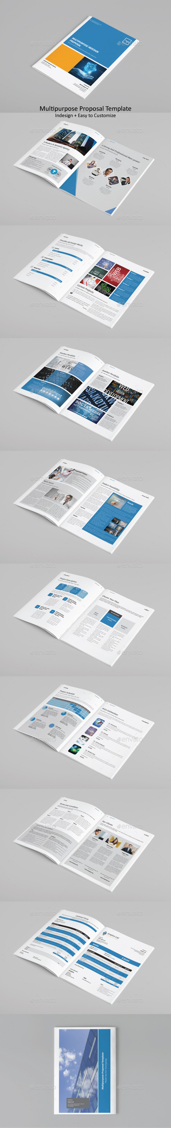 Multipurpose Proposal Template - Proposals & Invoices Stationery