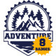 Badges Adventure - GraphicRiver Item for Sale