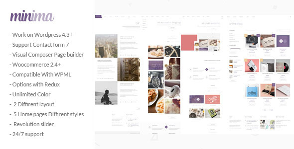 Minima – Creative & Professional WP Theme
