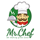 Mr.Chef Logo Template - GraphicRiver Item for Sale