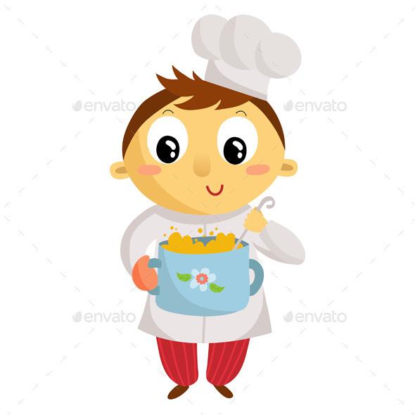 Kid Cook - People Characters